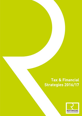 Tax & Financial Strategies cover