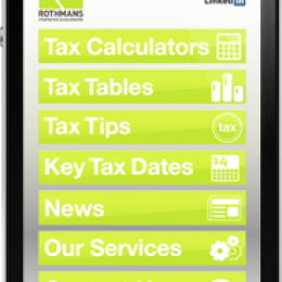 Tax App now available!